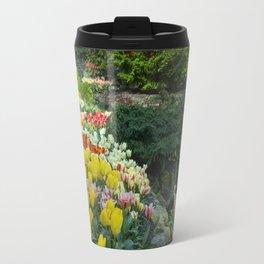 Technicolor Tulips Travel Mug