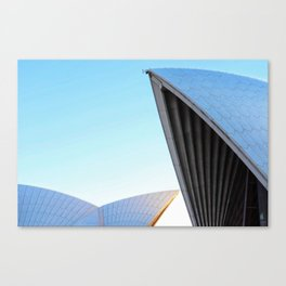 Morning rays, Sydney Opera House Canvas Print