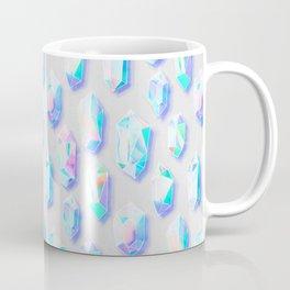 Iridescent Rainbow Crystals Coffee Mug