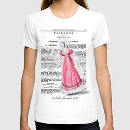 Regency Fashion Plate 1819, La Belle Assemblee T-shirt