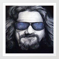 The Dude Lebowski Art Print