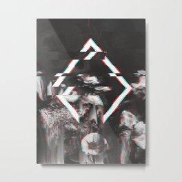 DARK ORCHID 3 Metal Print