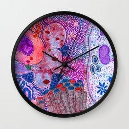 Bacterial world Wall Clock