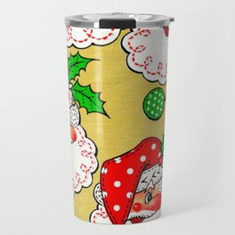 polka dot santa Travel Mug
