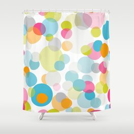 Multi dots Shower Curtain