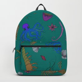 SEA CREATURES Backpack