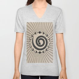 The Snake Origin  Unisex V-Neck