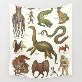 CRYPTIDS Wall Tapestry