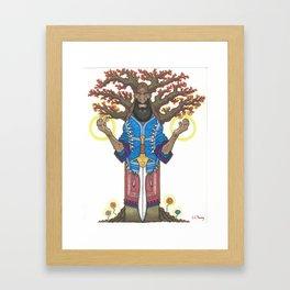 The Sword, The Branch Framed Art Print