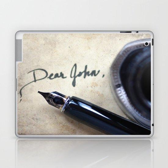 Dear John Laptop & iPad Skin