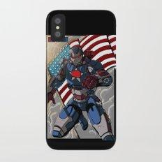 Iron Patriot Slim Case iPhone X