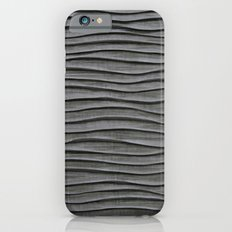 Black Waves Slim Case iPhone 6s