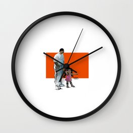 Daddy's Lil girl Wall Clock