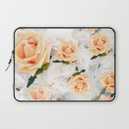 YELLOW ROSES WHITE ROSES Laptop Sleeve