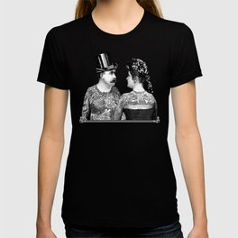 Tattooed Victorian Lovers T-shirt