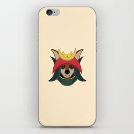 Daimyo Dog iPhone Skin