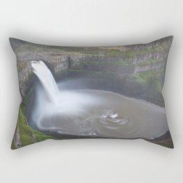 Palouse Falls at Sunrise Rectangular Pillow