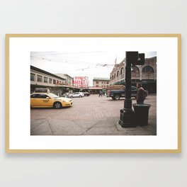 Pikes Place Framed Art Print