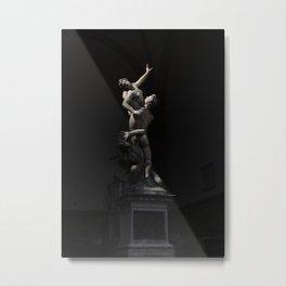 Florence Statues Metal Print
