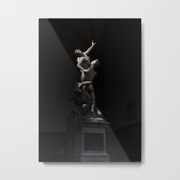 Florence Statues Metal Print