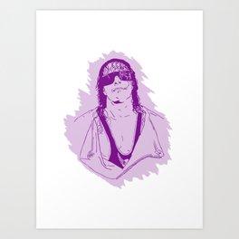 Bret Hart Art Print