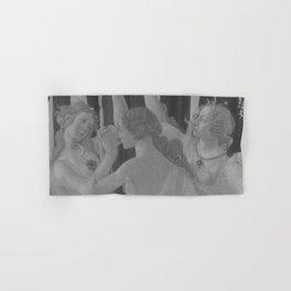 Black White Primavera Hand & Bath Towel