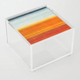 Yellowstone Orange Acrylic Box