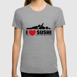 I Love Sushi Sexy Oral Gift T-shirt