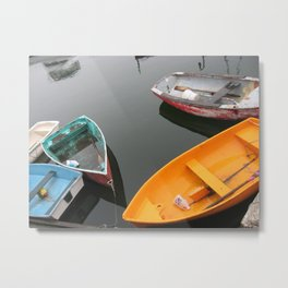 Rockport Rowboats 2 Metal Print
