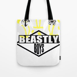 beastly boys Tote Bag