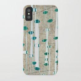 Birch Grass iPhone Case