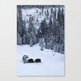 Schanfigg GR Langweis Canvas Print