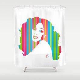 Donna Summer | Pop Art Shower Curtain