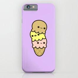 Cute ice cream iPhone Case