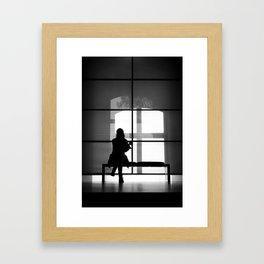 Silluette Framed Art Print
