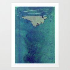 Beneath Art Print