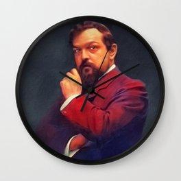 Claude Debussy, Music Legend Wall Clock