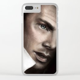 Benedict Painting Clear iPhone Case