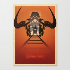 Steven Spielberg's INDIANA JONES AND THE TEMPLE OF DOOM Canvas Print
