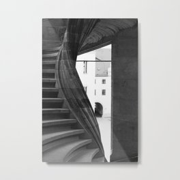 spiral staircase Torgau Metal Print