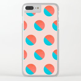 Abstraction_DOT_LOVE_002 Clear iPhone Case