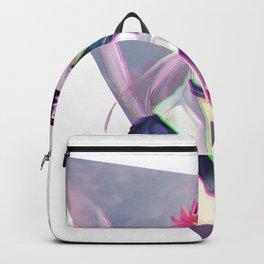 CAT GIRL NEKO GLITCH - SAD JAPANESE ANIME AESTHETIC Backpack