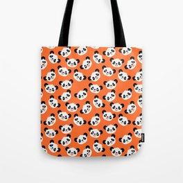 Happy Pandas Tote Bag
