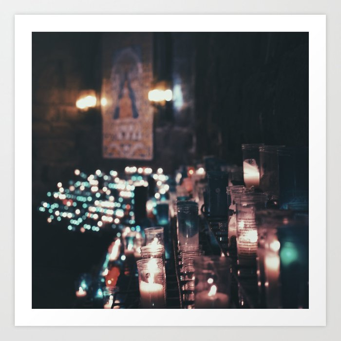 Montserrat Lights Art Print by jessicajoyphotography