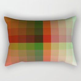 Color harmony ...red , green Rectangular Pillow