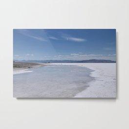 Salt Flats 1 Metal Print