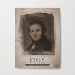 Stendhal Metal Print