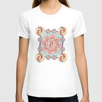 quilt T-shirts featuring Mandala Quilt by Helene Michau