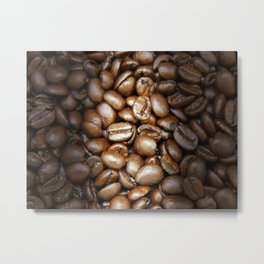 Coffee Beans! 3 Metal Print