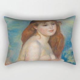 Little Bather Rectangular Pillow
